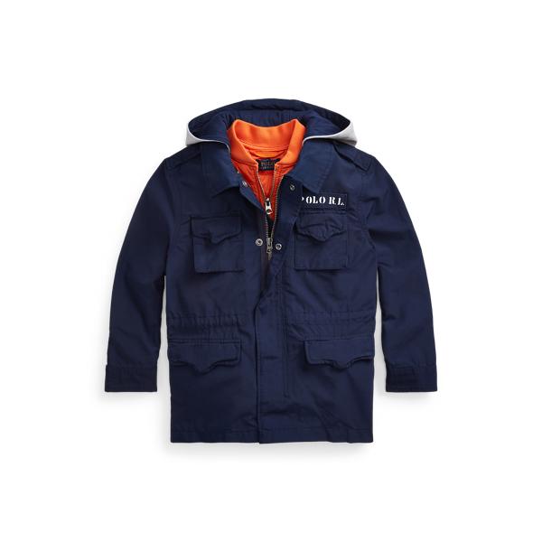3-in-1 Surplus-Inspired Jacket