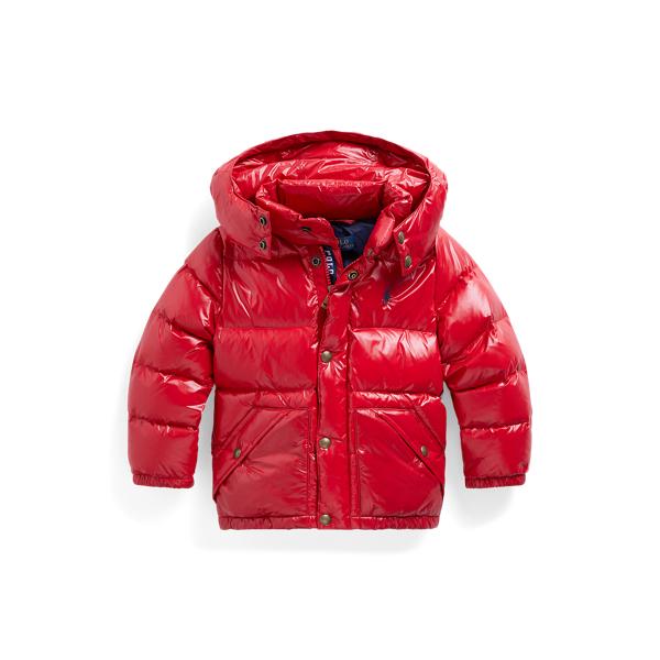 폴로 랄프로렌 남아용 숏패딩 Polo Ralph Lauren Water-Repellent Down Jacket,RL 2000 Red