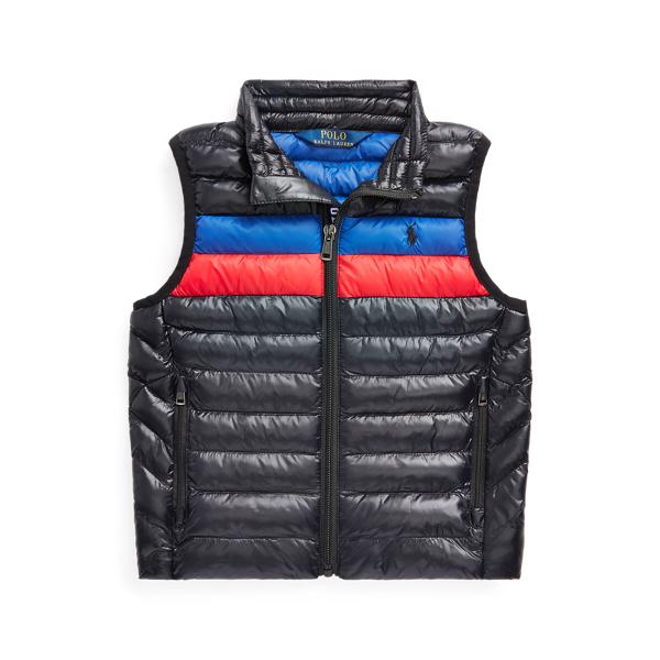 폴로 랄프로렌 남아용 패딩 조끼 Polo Ralph Lauren The Packable Vest,Polo Black