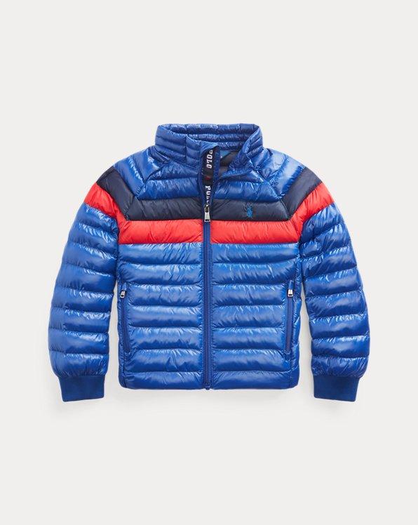 폴로 랄프로렌 남아용 자켓 Polo Ralph Lauren The Packable Jacket,Sistine Blue