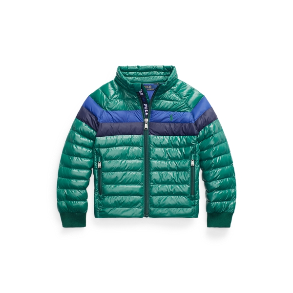 폴로 랄프로렌 남아용 숏패딩 Polo Ralph Lauren The Packable Jacket,New Forest
