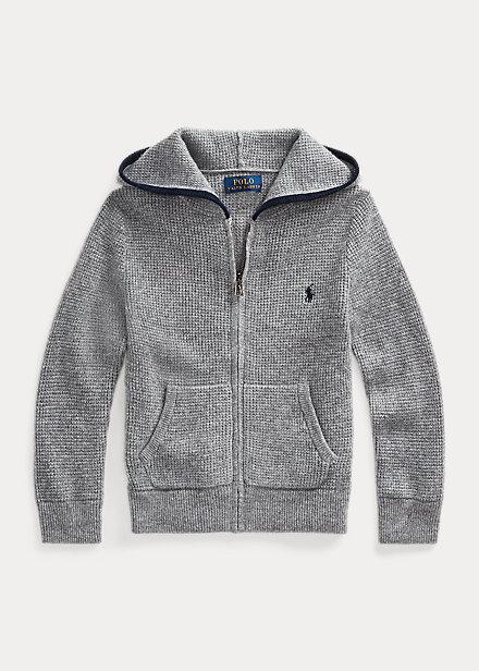 Polo Ralph Lauren Cashmere Full-Zip Sweater