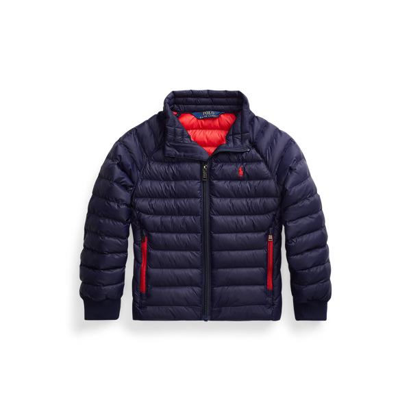 폴로 랄프로렌 남아용 숏패딩 Polo Ralph Lauren The Packable Jacket,Newport Navy