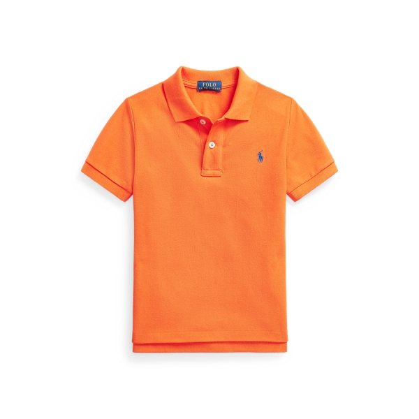 폴로 랄프로렌 남아용 폴로 셔츠 Polo Ralph Lauren Cotton Mesh Polo Shirt,Coastal Orange