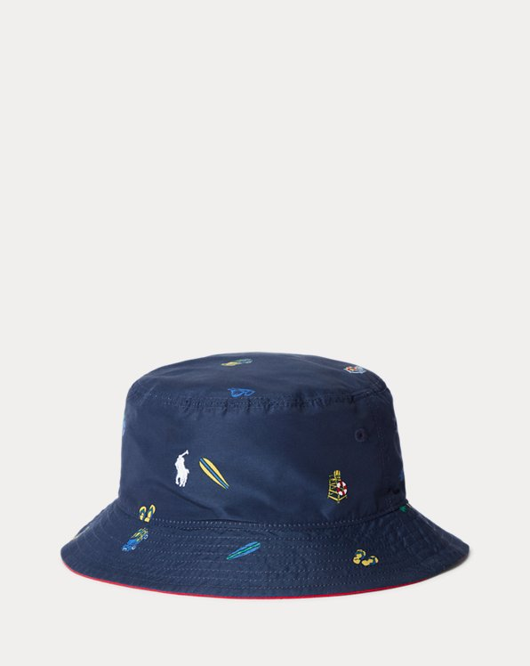 Reversible Chino Bucket Hat