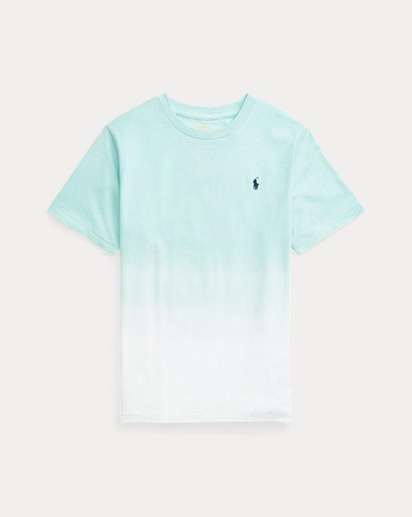T-shirt en jersey de coton dip-dye