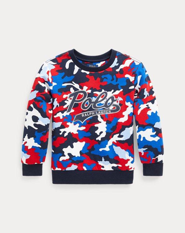 Camo Double-Knit Sweatshirt