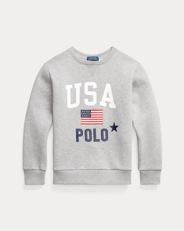 USA Polo Fleece Sweatshirt