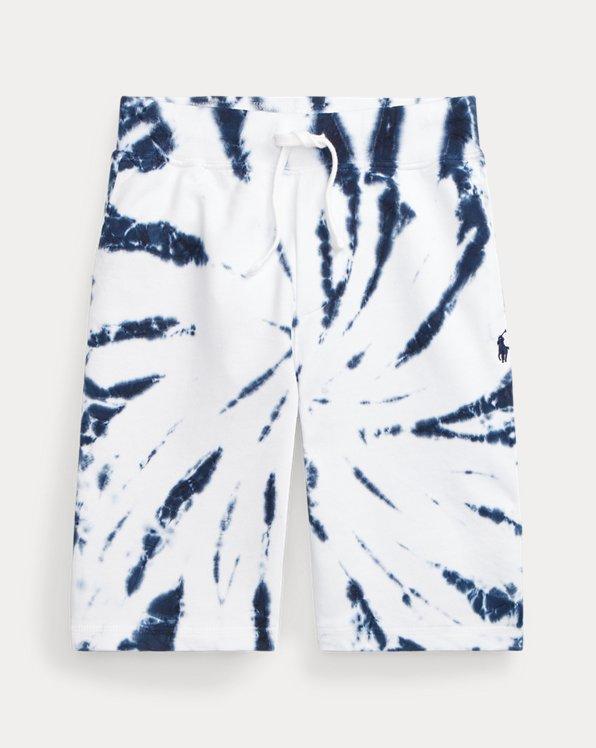 Tie-Dye Cotton Terry Short