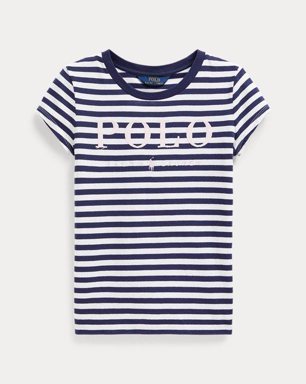 Camiseta de algodón Polo con logo