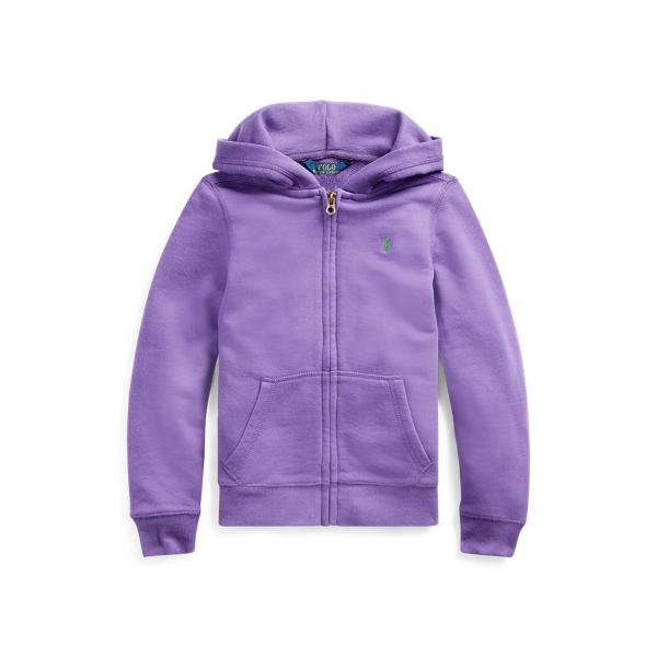 폴로 랄프로렌 Polo Ralph Lauren French Terry Full-Zip Hoodie,Rugby Purple
