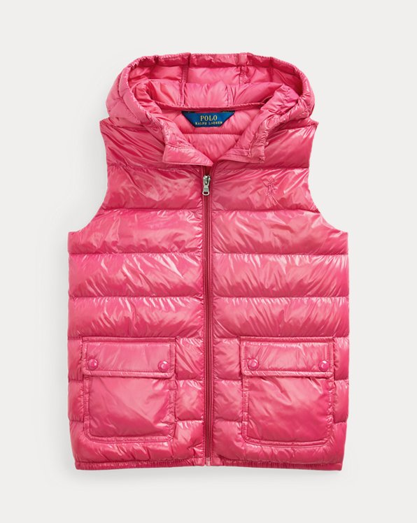 The Packable Hooded Gilet