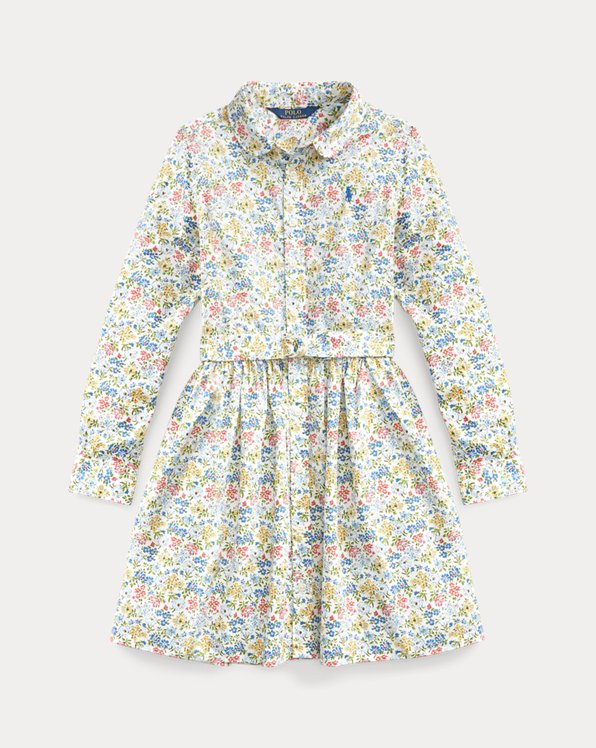 Floral Cotton Shirtdress