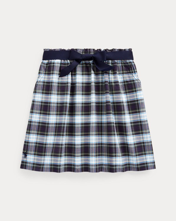 Tartan Plaid Oxford Skirt
