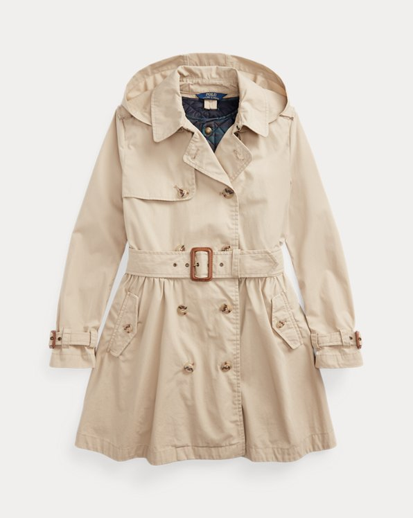Water-Resistant Trench & Vest