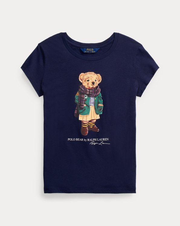 T-shirt Polo Bear en jersey