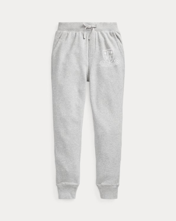 Graphic Metallic French Terry Jogger