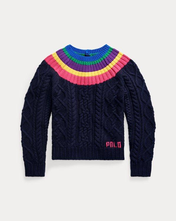 Aran-Knit Fun Sweater