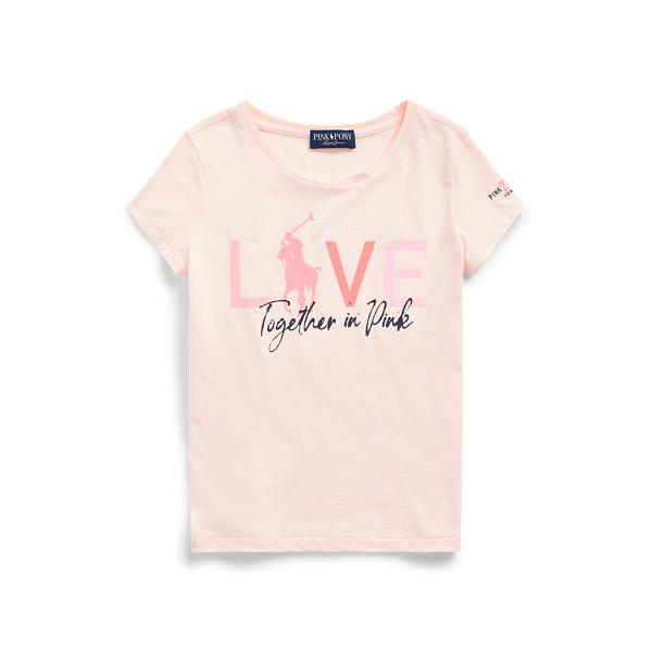 폴로 랄프로렌 Polo Ralph Lauren Pink Pony Jersey Tee,Love Pink