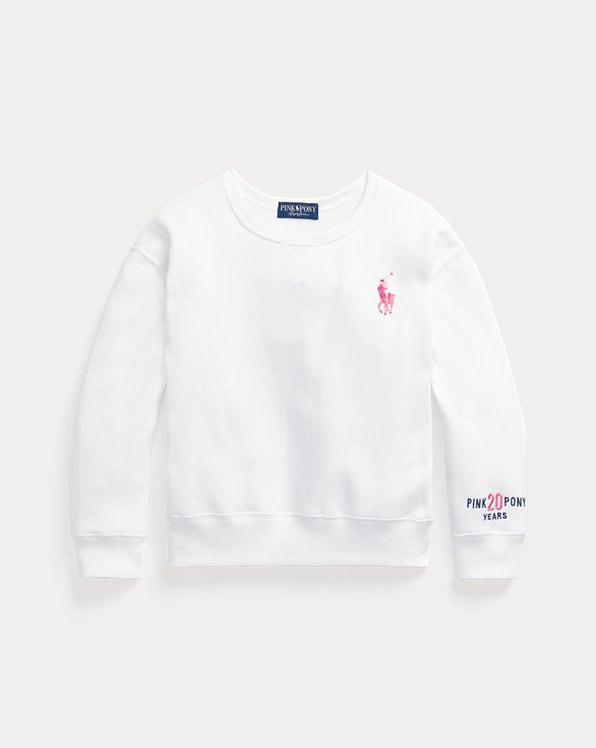 Pink Pony Fleece Sweatshirt