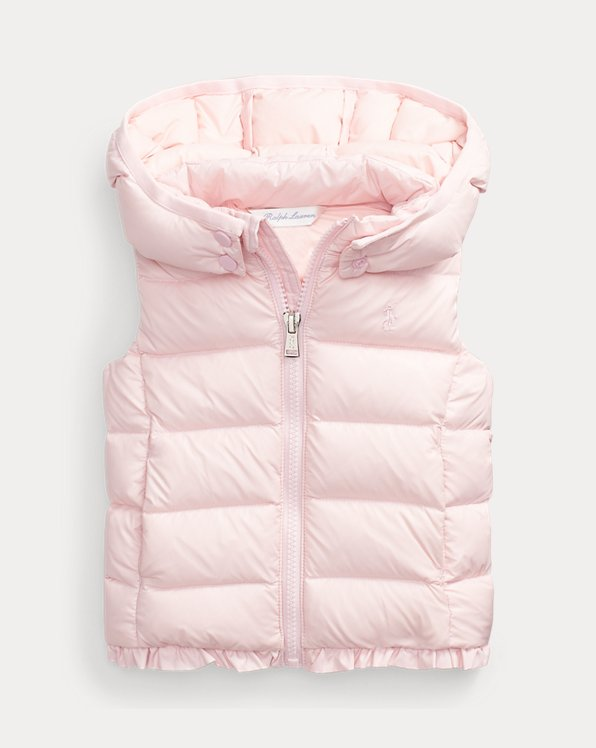 Water-Repellent Hooded Gilet