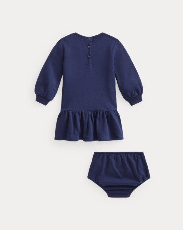 Terry Knit Dress & Bloomer