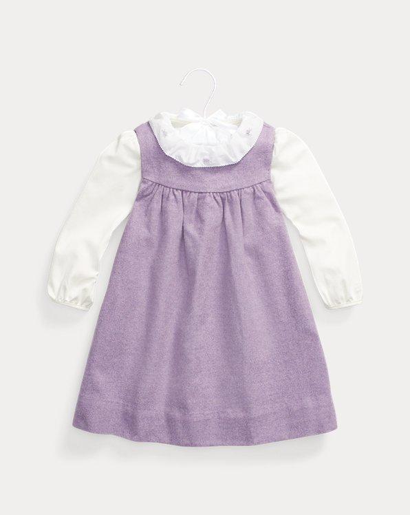 Ensemble robe et body bébé