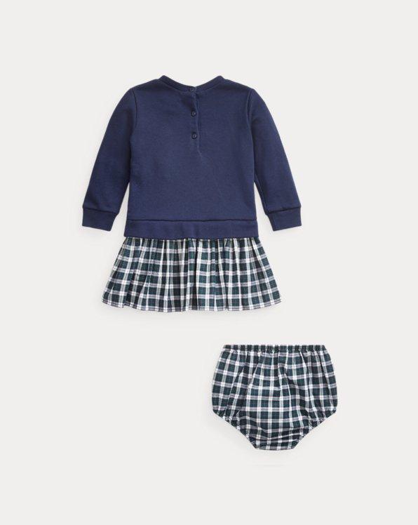 Sweatshirt Dress & Bloomer