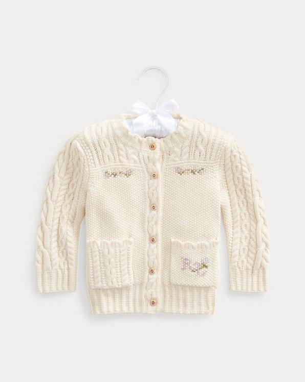 Cardigan en laine mélangée