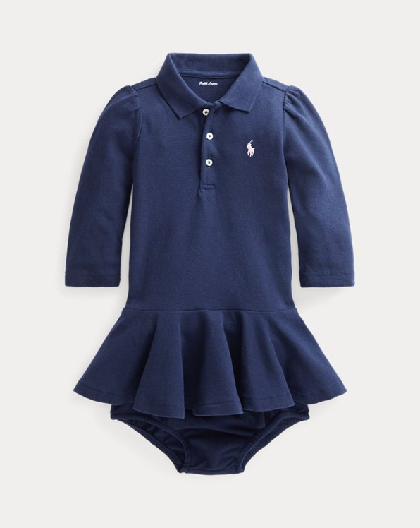 Pique Polo Dress & Bloomer
