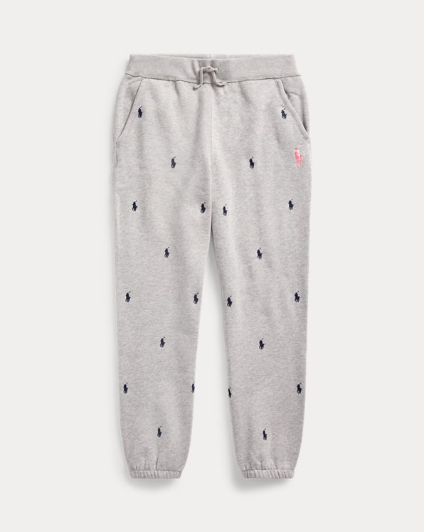 Pink Pony Fleece Jogger Trouser