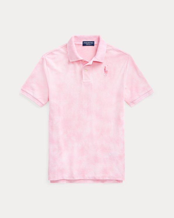 Pink Pony Tie-Dye Polo Shirt