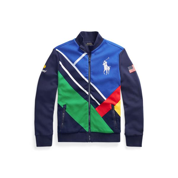 폴로 랄프로렌 Polo Ralph Lauren US Open Ballperson Track Jacket,French Navy Multi