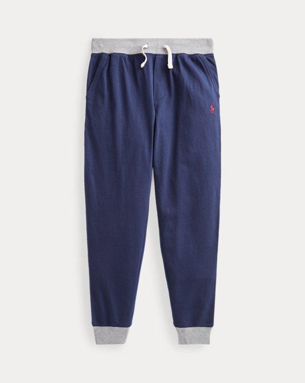 폴로 랄프로렌 보이즈 조거 팬츠 Polo Ralph Lauren Cotton Jersey Jogger Pant,Cruise Navy