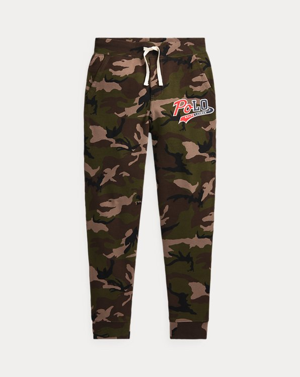Logo Camo Fleece Jogger Trouser