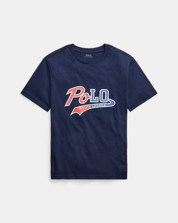 Camiseta de punto jersey con logotipo