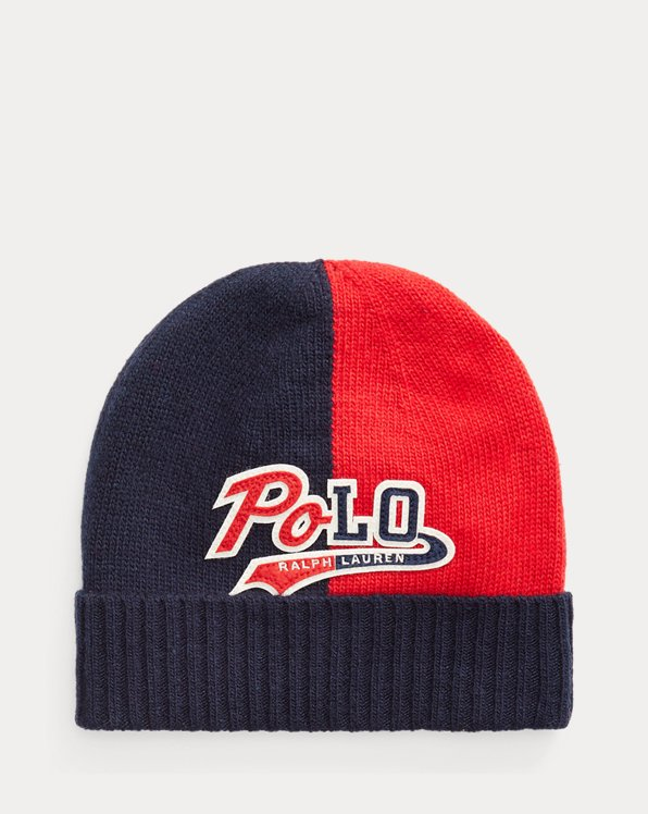 Logo-Patch Wool-Blend Hat