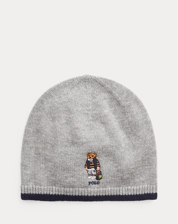 Polo Bear Merino Hat