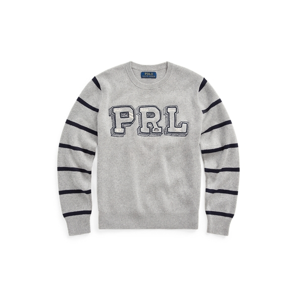 폴로 랄프로렌 Polo Ralph Lauren PRL Cotton Crewneck Sweater,League Heather