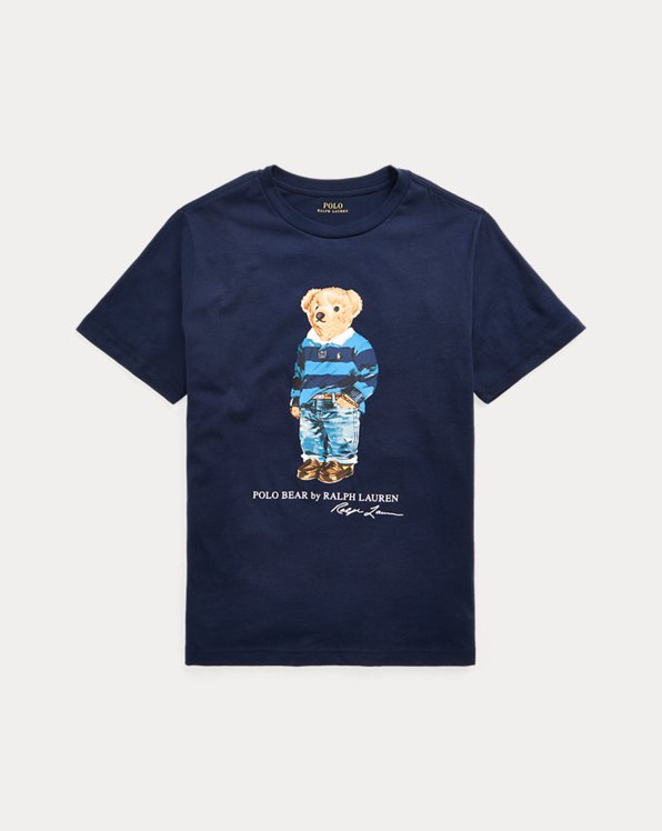 T-shirt Polo Bear jersey de coton