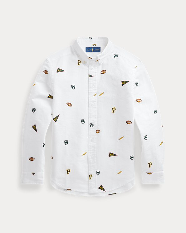 Pennant Cotton Oxford Shirt