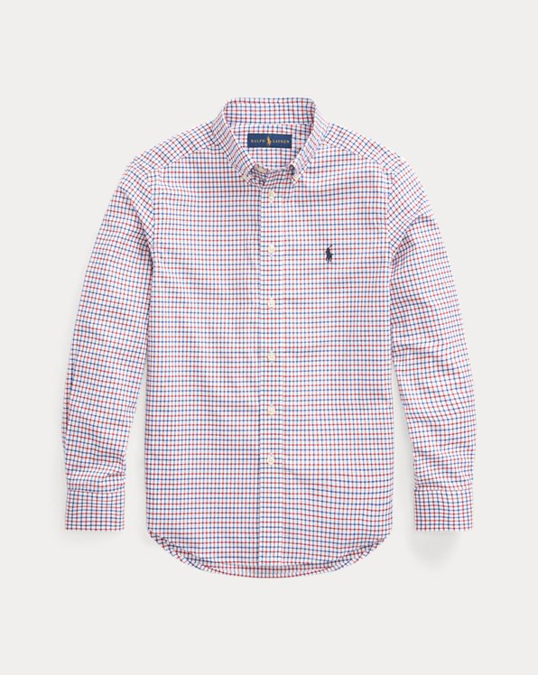 Tattersall Cotton Poplin Shirt