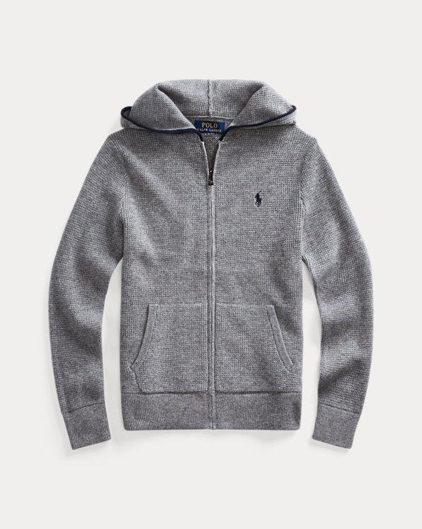Cashmere Full-Zip Hoodie