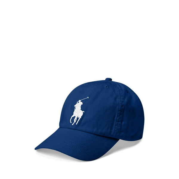 폴로 랄프로렌 보이즈 볼캡 모자 Polo Ralph Lauren Big Pony Chino Ball Cap,Holiday Sapphire