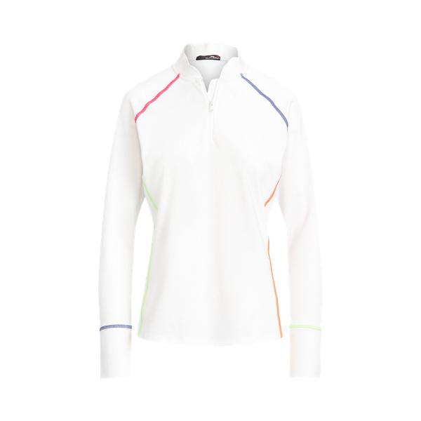 폴로 랄프로렌 Polo Ralph Lauren Stretch Quarter Zip,Pure White