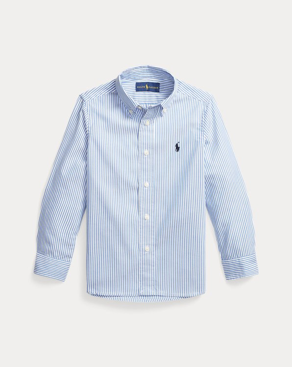 Slim Striped Oxford Shirt