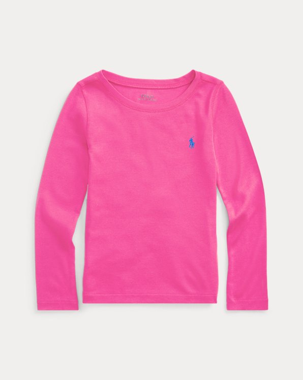 Cotton-Modal Long-Sleeve Tee