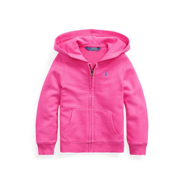 폴로 랄프로렌 Polo Ralph Lauren French Terry Full-Zip Hoodie,College Pink