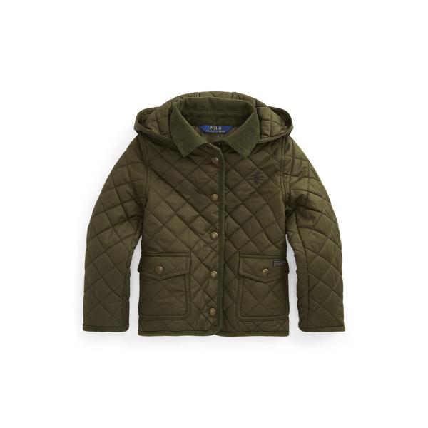 폴로 랄프로렌 여아용 자켓 Polo Ralph Lauren Water-Resistant Barn Jacket,Spanish Olive