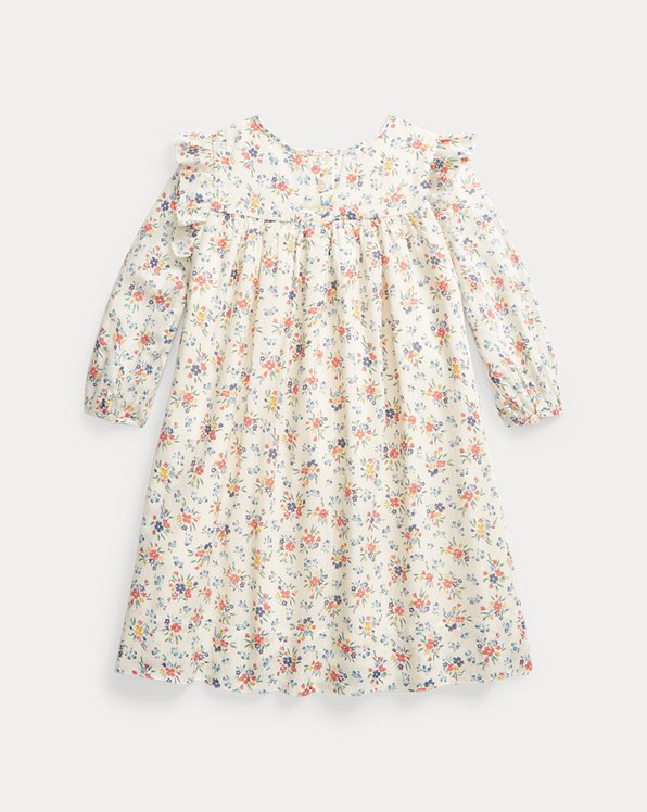 Floral Smocked Cotton Dress